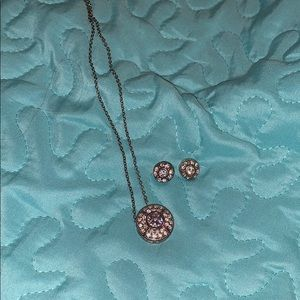 Jewelry - Matching necklace and earrings